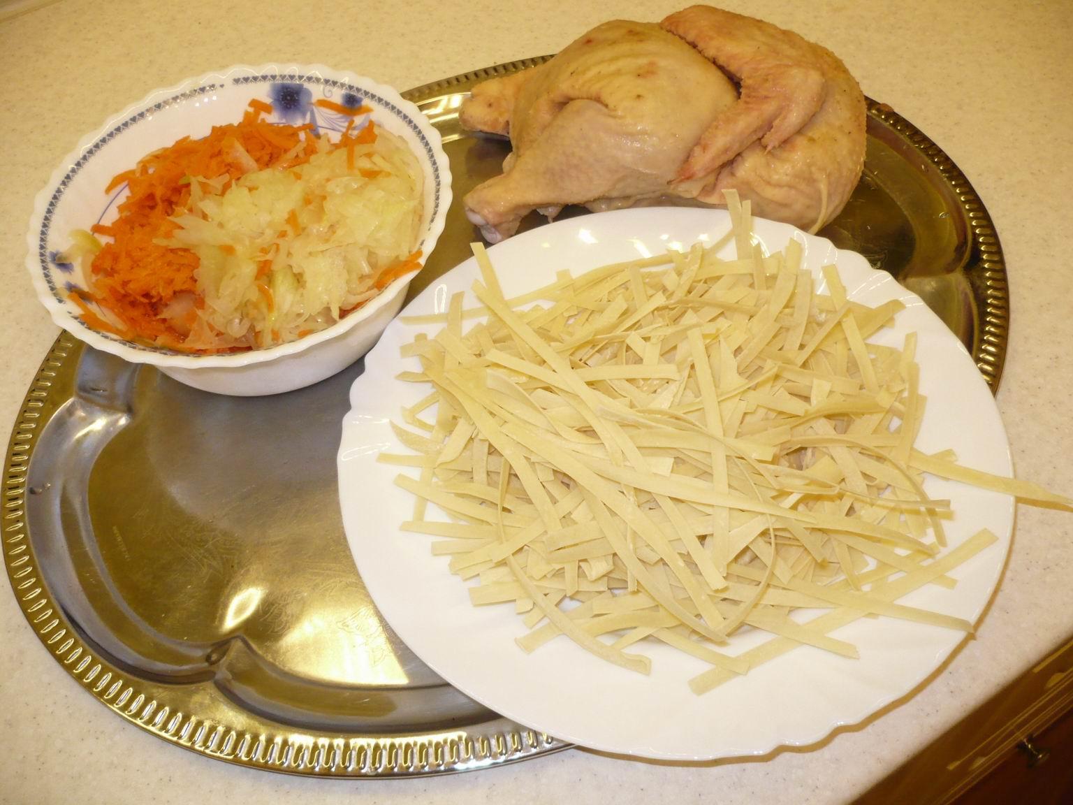 Куриный суп с яичной лапшой / Куриные супы / TVCook: пошаговые 45